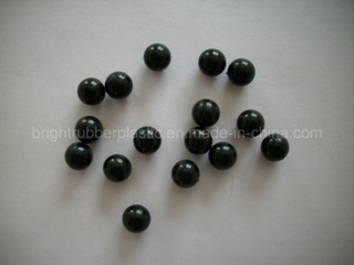 Polished Small Solid Rubber Ball