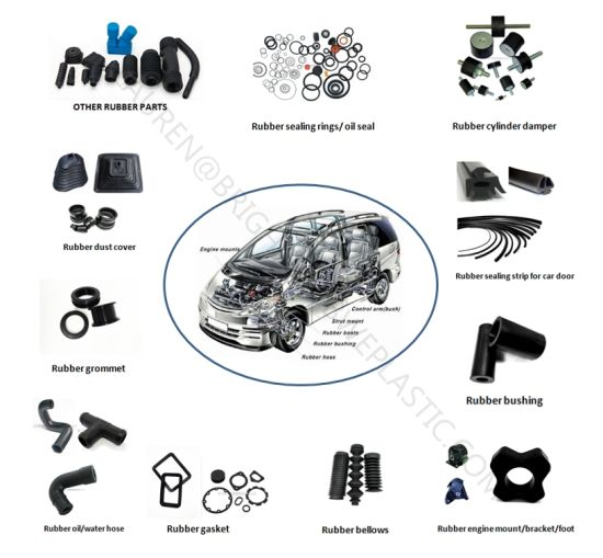 Automotive Electricity Resisting EPDM Rubber Bushing