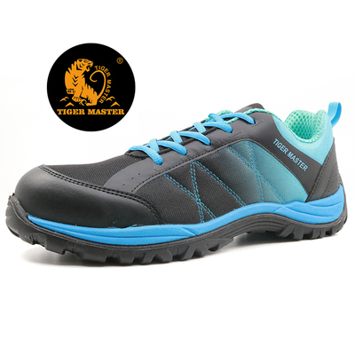 PU injection light weight metal free sport type safety shoes airport