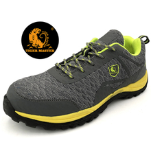 PU injection fashion sport safety shoes with composite toe caps