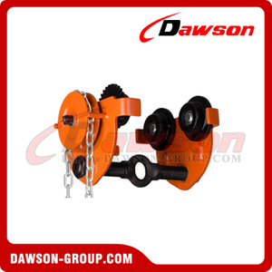 DS-GCL-FK Type Geared Trolley Clamp