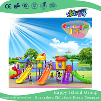 School Various Slide Combination Children Playground (BBE-A74)