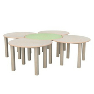 New Style Children Flower Multiyear Board Round Table (19A3305)