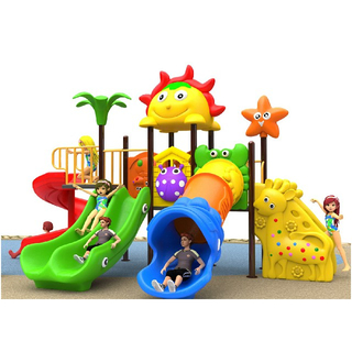 Outdoor Small Plastic Children Slide Playground (BBE-N21)