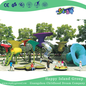 Outdoor Morning Glory Metal Climbing Play Equipment (HHK-5201)