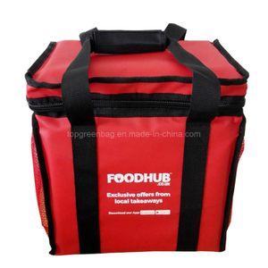 Custom Logo Luxury Thick Insulated Hot Food Pizza Delivery Thermal Cooler Bags