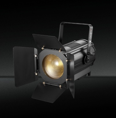 TH-340 Proyector LED barato Fresnel con zoom automático para Video