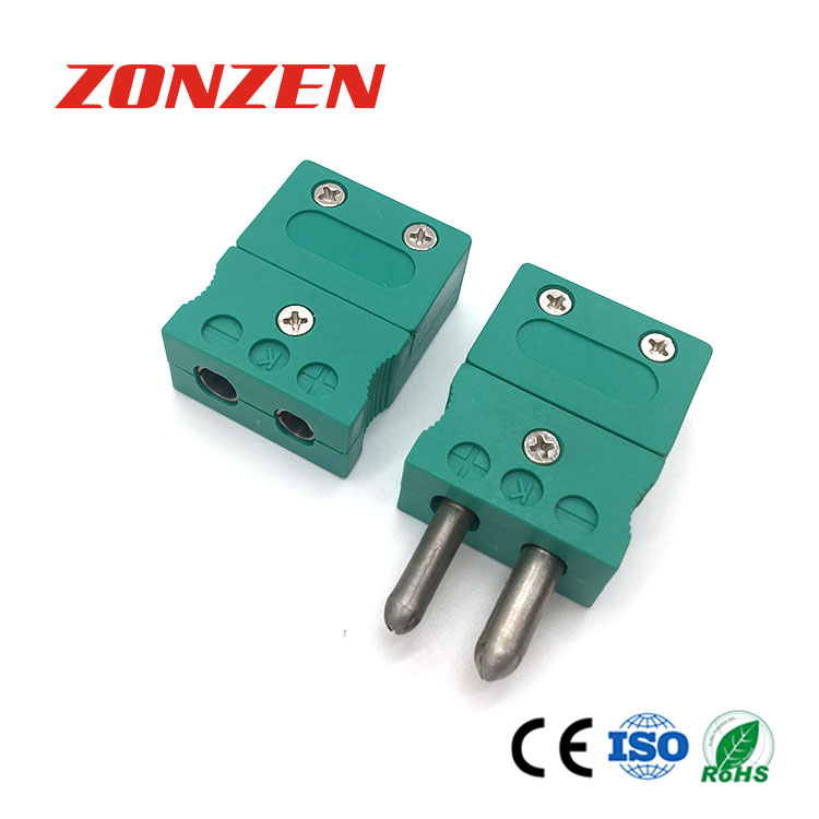 Thermocouple standard connector (ZZ-S01, Hollow pins)