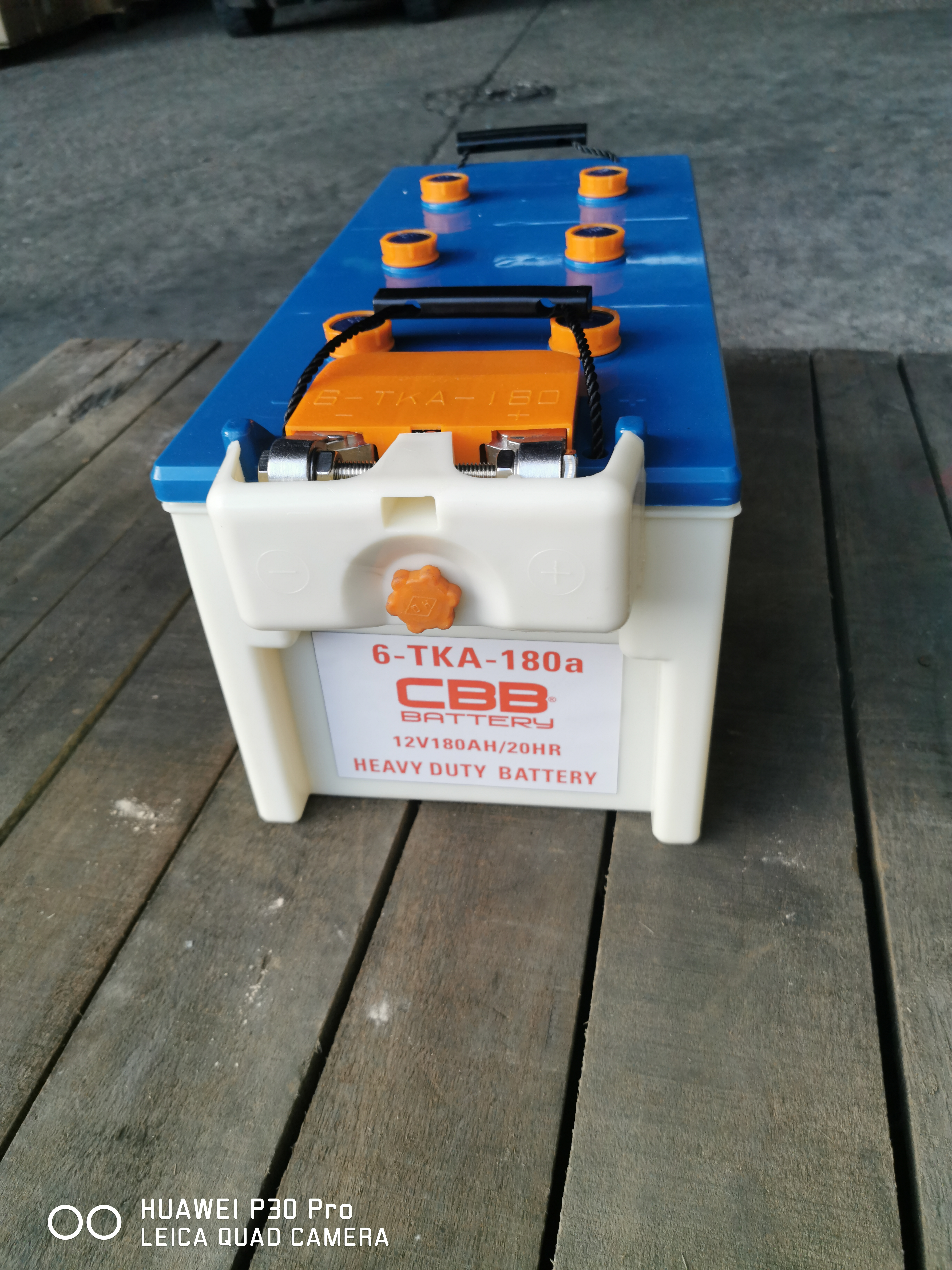 6-TKA-180A Ordnance /Military/Tank Heavy Duty Battery 12V180AH