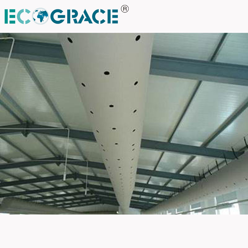 Air Ducting Polyester Fire Retardant Oxford Fabric Duct