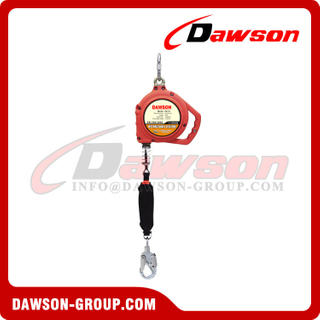 Stainless Steel Safety Self-Retracting Lifeline with Steel Snap Hook