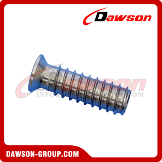 High Polished Thread Insert, Stainless Steel