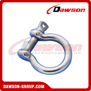 AISI304 European Type Bow Shackle, Stainless Steel 316 European Type Bow Shackle
