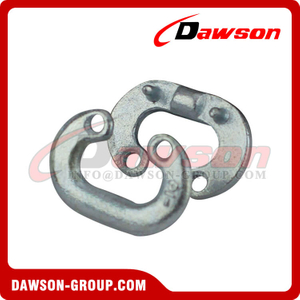 Forged Split Connector, Chain Connecting Link, Oval Shaped Missing Link