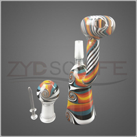 4.7 Inch Colorful High Quality Glass Water Pipe for Gift