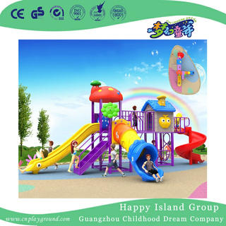 Bright Colorful Plastic Slide Children Playset (BBE-A37)