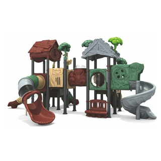 Outdoor Commercial Tree House Slide Playground For Children (ML-2002302)