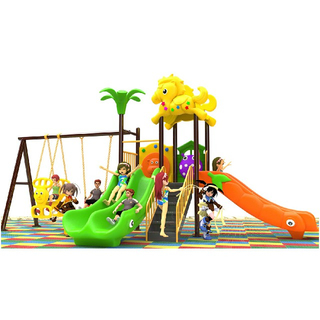 Outdoor Kids Slide And Swing Combination Playground For Sale(BBE-N47)