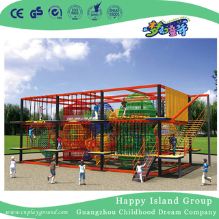 Outdoor Large Metal Climbing Playground For Kids Play (HHK-7001)