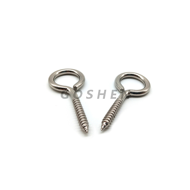 Stainless Steel 304 316 1/4*2 Self Tapping Screw with Rings
