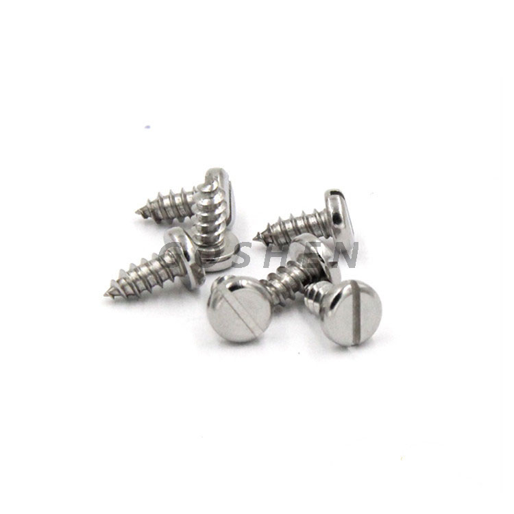 Stainless Steel 304 316 St3.5 Slotted Pan Head Tapping Screws