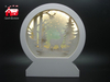Christmas Decorative Arch Frame Music Box As Led Home Decoration with Laser Cut Christmas Scene From Christmas Decoration Supplies