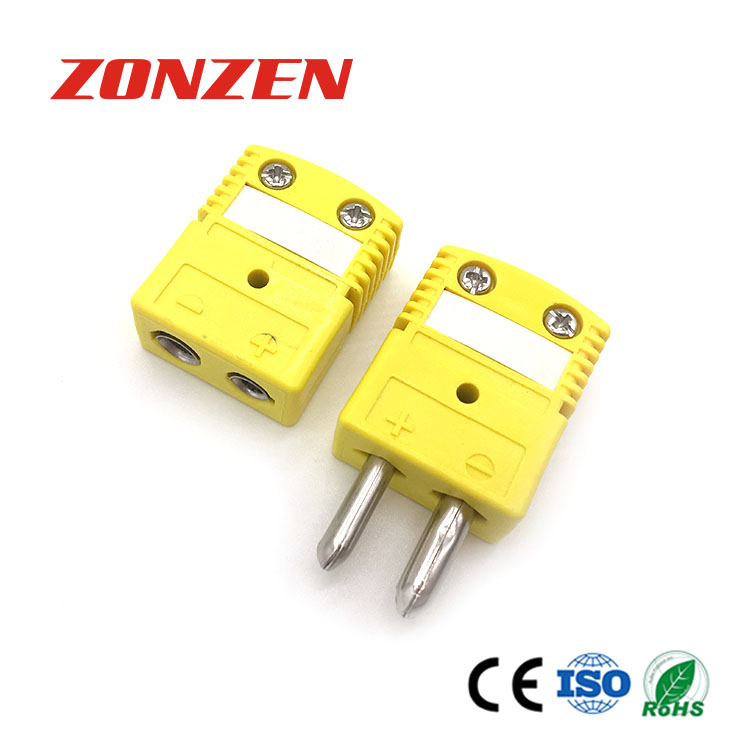 New Type Standard Size Round Pin Thermocouple Connector Most Pupular TC Connector