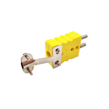 Thermocouple standard connector with metal clamp (ZZ-S11C)
