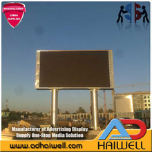 Al aire libre SMD LED Screen Display cartelera publicitaria 10mx5m Estructura