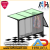 Bus Shelters Light Box Display