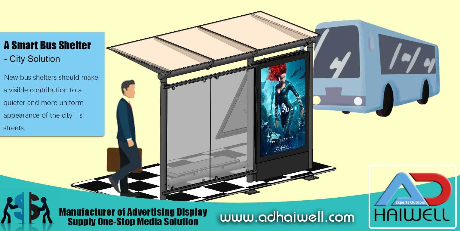 Bus Shelter Project for Public Spaces