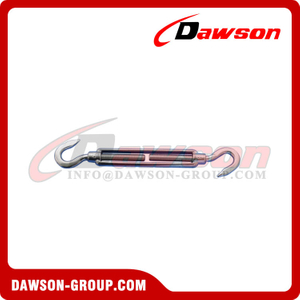 JIS Type Frame Turnbuckle with Hook & Hook, JIS Frame Type Turnbuckle