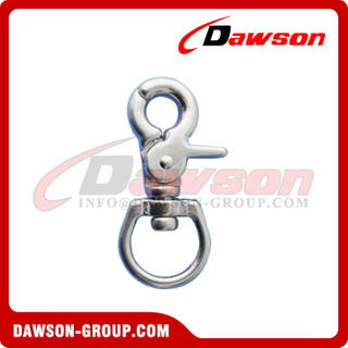 Trigger Snap Hook, Stainless Steel Swivel Trigger Snap Hook