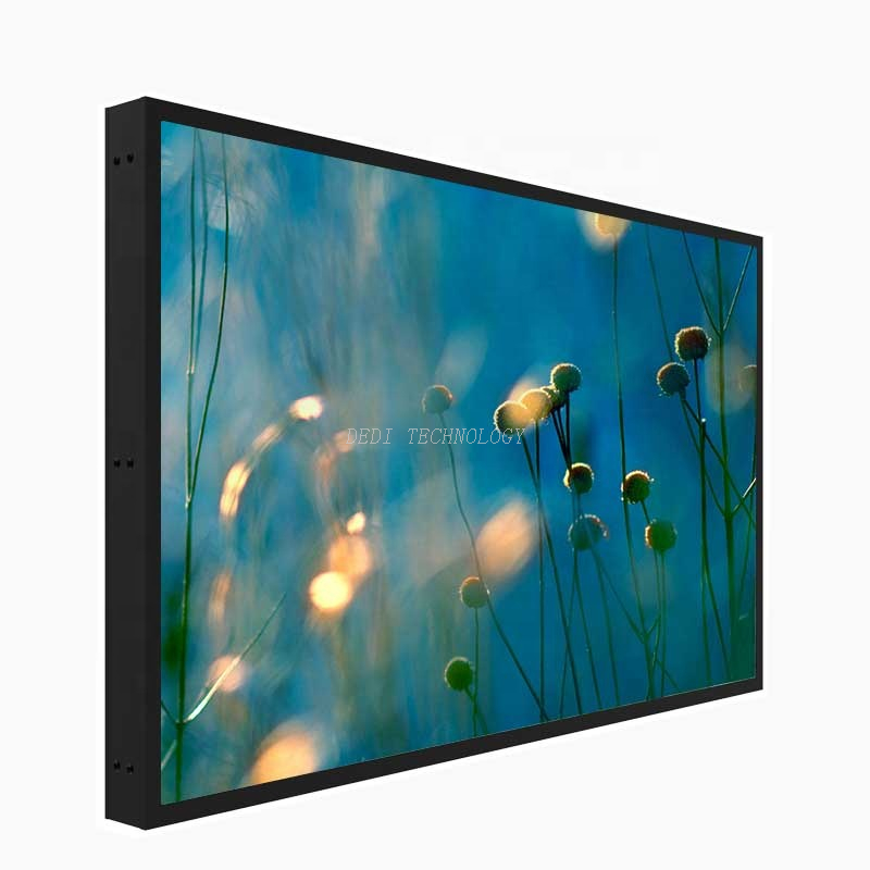custom-made 43 inches 1500 nits 2000 nits 2500 nits sunlight readable LCD monitor floor standing LCD Panel