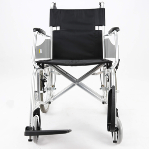 Aluminum Lightweight Manual Transport Chair for Adults