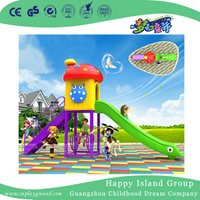Cartoon Mushroom Single Slide Children Playground (BBE-A50)