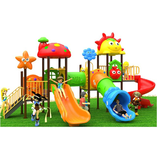 Outdoor Cartoon Plastic Children Playground For School (BBE-N31)