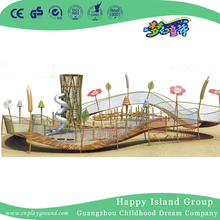 Outdoor Children Wandering Climbing Playground Equipment (HHK-6301)