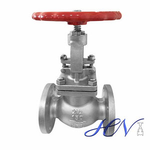 Gas Manual Industrial Flanged Stainless Steel Globe Valve