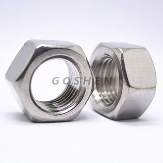 Stainless Steel M30 Hexagon Nut