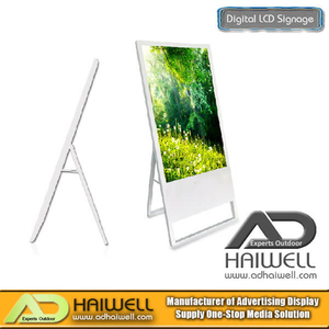 "42"" Ultra-thin Portable Digital Poster LCD Display Signage"