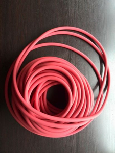 Red Silicon O-Rings for Cars or Machines