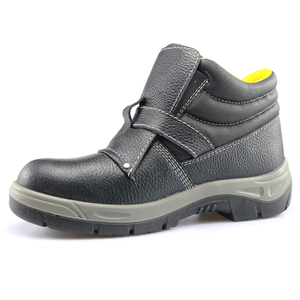 Non Slip Leather Anti Static Steel Toecap Welders Safety Shoes for Work