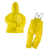 Flame Resistant Raincoat Two Pieces Jacket And Trousers Water Proof Adult Men Rain Suits