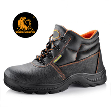 RB1090 heat resistant rubber sole CE steel toe cap safety shoes work