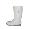WNS CE approved steel toe cap food industry safety rain boots pvc