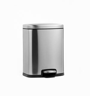 2in1 Rectangle Padel Waste Bin with 10lITER (KL-8210)