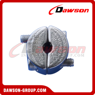 Stainless Steel Stopper on Wire Rope, Wire Rope Ring Clamp