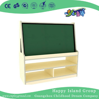 School Children Wooden Black Board Cabinet (HJ-4411)