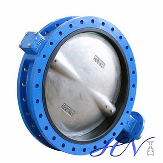 Quick Opening Soft Sealing Cast Iron Flanged Centric Butterfly Valve